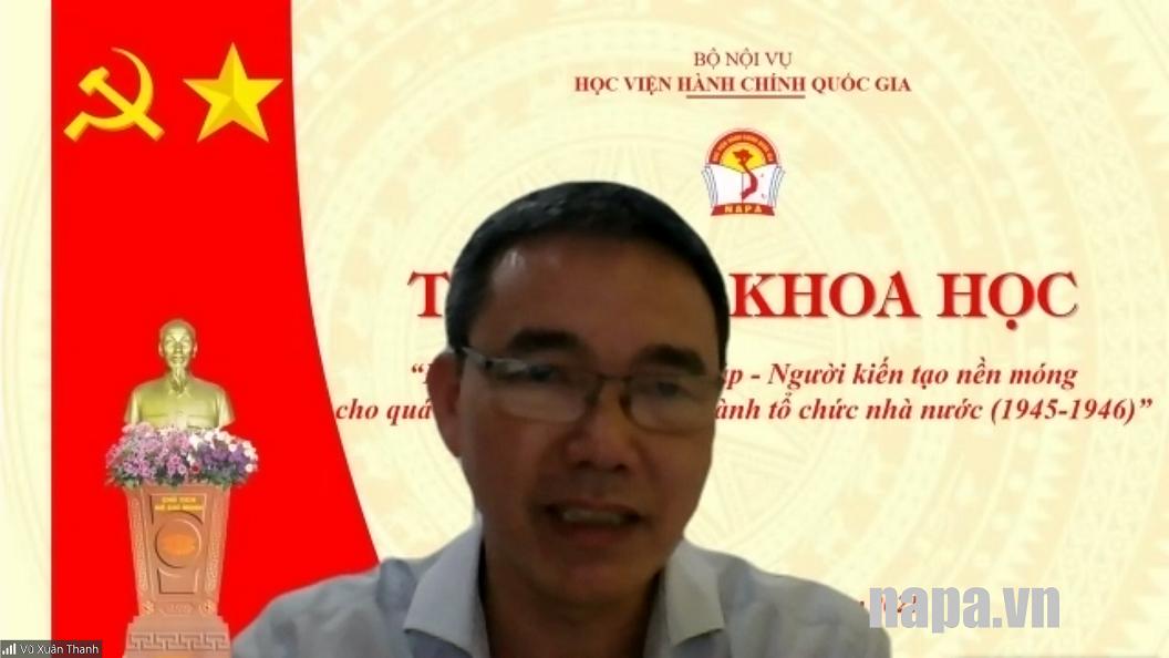 TS Vũ Xuân Thanh
