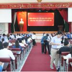 Học viện Hành chính Quốc gia cơ sở TP. Hồ Chí Minh tổ chức tiếp sinh  Đại học Quản lý Nhà nước hệ chính quy Khóa 17 (2016 - 2020)