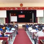 Đảng ủy Bộ phận Học viện Hành chính Quốc gia cơ sở TP. Hồ Chí Minh tổ chức Hội nghị học tập, quán triệt Nghị quyết Đại hội XII của Đảng