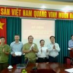 Kỷ niệm 72 năm ngày thành lập Quân đội nhân dân Việt Nam và ngày Hội Quốc phòng toàn dân tại cơ sở Học viện TP. Hồ Chí Minh