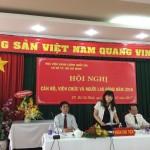 Hội nghị Cán bộ, Viên chức và Người lao động năm 2016 tại Học viện Hành chính Quốc gia Cơ sở Tp. Hồ Chí Minh