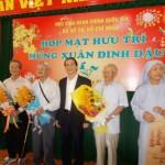 Học viện Hành chính Quốc gia cơ sở TP. Hồ Chí Minh Họp mặt cán bộ hưu trí nhân dịp đón Xuân Đinh Dậu 2017