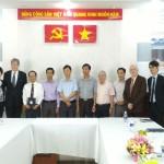 Đoàn chuyên gia Trung tâm Đào tạo cấp cao (CHEMI) - Bộ Nội vụ, Cộng hòa Pháp thăm và làm việc với Cơ sở Học viện tại TP. Hồ Chí Minh