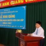 Khai giảng các Lớp bồi dưỡng ngạch Chuyên viên Chính và Chuyên viên Cao cấp khóa II năm 2017 tại Cơ sở Học viện TP. Hồ Chí Minh