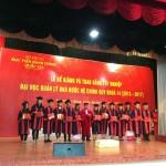 Bế giảng và trao bằng tốt nghiệp Đại học QLNN hệ chính quy cho sinh viên khóa 14 (2013-2017) tại Cơ sở Học viện TP. Hồ Chí Minh