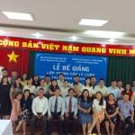 Bế giảng lớp Trung cấp lý luận Chính trị - Hành chính khóa 24/2016 tổ chức tại Cơ sở Học viện TP. Hồ Chí Minh