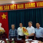 Giám đốc HVHCQG TS. Đặng Xuân Hoan làm việc với cán bộ chủ chốt cơ sở Học viện tại TP. Hồ Chí Minh