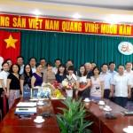 Cơ sở Học viện tại TP. Hồ Chí Minh gặp mặt thân mật  PGS.TS Lê Thị Vân Hạnh - Nguyên Phó Giám đốc HVHCQG, phụ trách Cơ sở TP. Hồ Chí Minh