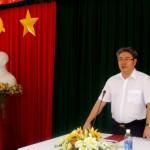TS. Đặng Xuân Hoan - Giám đốc Học viện Hành chính Quốc gia gặp gỡ cán bộ, nhân viên và người lao động tại Cơ sở Học viện TP. Hồ Chí Minh