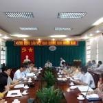 TS. Đặng Xuân Hoan - Giám đốc Học viện Hành chính Quốc gia họp giao ban với Cơ sở Học viện tại TP. Hồ Chí Minh