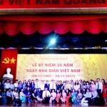 Mít ting chào mừng kỷ niệm 35 năm ngày Nhà giáo Việt Nam 20-11 tại Cơ sở Học viện TP. Hồ Chí Minh