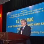 Hoàn thành tổ chức kỳ thi nâng ngạch từ chuyên viên lên chuyên viên chính đợt 3 năm 2016 - 2017 tại Học viện Hành chính Quốc gia Cơ sở TP. Hồ Chí Minh