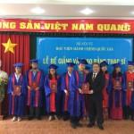 Lễ bế giảng và trao bằng Thạc sỹ năm 2017 tại cơ sở Học viện TP. Hồ Chí Minh