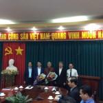 Các tân Phó Giám đốc Học viện Hành chính Quốc gia ra mắt tại cơ sở học viện TP. Hồ Chí Minh