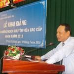 Khai giảng Lớp bồi dưỡng ngạch Chuyên viên Cao cấp khóa II năm 2018 tại Phân viện Học viện TP. Hồ Chí Minh