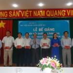 Bế giảng Lớp bồi dưỡng lãnh đạo, quản lý cấp Huyện khóa I năm 2018 tại Phân viện HVHCQG tại TP. Hồ Chí Minh