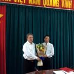 Công bố Quyết định điều động và giao nhiệm vụ cho PGS. TS Huỳnh Văn Thới giữ chức vụ Phó Giám đốc Phân viện HVHCQG tại TP. Hồ Chí Minh