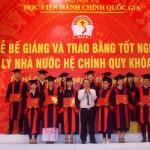 Phân viện Học viện Hành chính Quốc gia tại TP. Hồ Chí Minh tổ chức Lễ bế giảng và trao bằng tốt nghiệp cho sinh viên các lớp đại học Quản lý Nhà nước hệ chính quy khóa 15 (2014-2018)