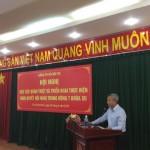Đảng ủy Bộ Nội vụ tổ chức Hội nghị học tập, quán triệt Nghị quyết Hội nghị Trung ương 7 (khóa XII) của Đảng tại Phân viện Học viện tại TP. Hồ Chí Minh