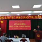 Đảng ủy Bộ Nội vụ tổ chức Lớp Bồi dưỡng nghiệp vụ công tác Đảng năm 2018 cho cấp ủy cơ sở Đảng thuộc và trực thuộc khu vực phía Nam