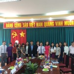 Trường Công vụ Singapor và Quỹ Quốc tế Temasek làm việc với Phân viện HVHCQG tại TP. Hồ Chí Minh