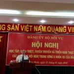 Hội nghị học tập, quán triệt và triển khai thực hiện các nội dung Hội nghị Trung ương 8 khóa XII tại Phân viện HVHCQG tại TP.HCM