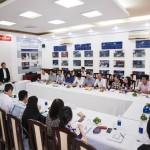 Ban Thường vụ Đảng ủy Bộ Nội vụ kiểm tra công tác xây dựng Đảng tại Đảng bộ Bộ phận Phân viện HVHCQG tại TP. Hồ Chí Minh