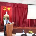 Khai giảng Lớp bồi dưỡng lãnh đạo, quản lý cấp Huyện khóa VII năm 2019 tại Phân viện Học viện TP. Hồ Chí Minh