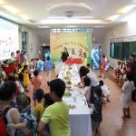 """Tổ chức hoạt động vui Tết Trung thu với chủ đề """"Trung thu yêu thương 2019"""" cho các cháu tại Phân viện HVHCQG tại TP. Hồ Chí Minh"""