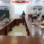 Phòng NN-TH và TT-TV và Bộ môn QLNN về KT và TTC thuộc Phân viện Học viện tại TP. Hồ Chí Minh tổ chức Tọa đàm khoa học