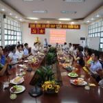 Phân viện HVHCQG tại TP. Hồ Chí Minh Họp mặt Kỷ niệm 75 năm Ngày thành lập Quân đội Nhân dân Việt Nam và Ngày Hội Quốc phòng Việt Nam