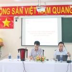 """Hội thảo """"Góp ý đề án thống nhất kiểm định chất lượng đầu vào công chức"""" tại Phân viện Học viện TP. Hồ Chí Minh"""