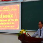 Khai giảng Lớp bồi dưỡng lãnh đạo, quản lý cấp Huyện và tương đương khóa 9/2020 tại Phân viện Học viện Hành chính Quốc gia tại Thành phố Hồ Chí Minh