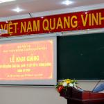 Khai giảng Lớp bồi dưỡng lãnh đạo, quản lý cấp Sở và tương đương khóa 24 năm 2020 tại Phân viện Học viện hành chính Quốc gia tại Thành phố Hồ Chí Minh