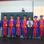 Lễ bế giảng và trao bằng tốt nghiệp Lớp Đại học Hành chính KS14-TC108,  hình thức vừa làm vừa học, mở tại Phân viện Học viện Hành chính Quốc gia tại Thành phố Hồ Chí Minh