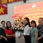 Công bố Quyết định nghỉ hưu hưởng chế độ bảo hiểm xã hội đối với đồng chí Hoàng Thị Bắc, Trưởng Phòng Tài vụ - Kế toán tại Phân viện Học viện Hành chính Quốc gia tại Thành phố Hồ Chí Minh