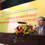 Bế giảng và trao bằng tốt nghiệp Đại học Quản lý Nhà nước hệ chính quy cho sinh viên khóa 17 (2016-2020) tại Phân viện Học viện Hành chính Quốc gia tại Thành phố Hồ Chí Minh
