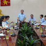 Hội nghị giao ban tháng 10 năm 2020 tại Phân viện Học viện Hành chính Quốc gia tại TP. Hồ Chí Minh