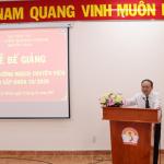 Bế giảng Lớp Bồi dưỡng ngạch chuyên viên cao cấp khóa 10 năm 2020 tại Phân viện Học viện Hành chính Quốc gia tại Thành phố Hồ Chí Minh