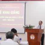 Khai giảng lớp Bồi dưỡng lãnh đạo, quản lý cấp sở và tương đương Khóa 1/2021 tổ chức tại Phân viện Học viện Hành chính Quốc gia tại Thành phố Hồ Chí Minh