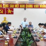 Họp giao ban công tác tháng 4 năm 2021 tại Phân viện Học viện Hành chính Quốc gia tại Thành phố Hồ Chí Minh