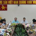Đoàn công tác Bộ Nội vụ khảo sát thực trạng tại Phân viện Học viện Hành chính Quốc gia tại Thành phố Hồ Chí Minh