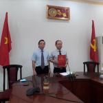 Lễ công bố và trao Quyết định thôi giữ chức vụ lãnh đạo, quản lý để làm công tác chuyên môn đối với TS. Hà Quang Thanh