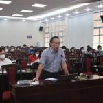 Ban Giám đốc Học viện Hành chính Quốc gia làm việc với Phân viện Học viện Hành chính Quốc gia tại Thành phố Hồ Chí Minh