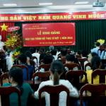 Khai giảng lớp Cao học đợt 1 năm 2016