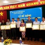 Bế giảng lớp Bồi dưỡng ngạch Chuyên viên chính khóa I năm 2016 tại Học viện Hành chính Quốc gia cơ sở TP. Hồ Chí Minh