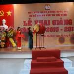 Học viện Hành chính Quốc gia Cơ sở Tp. Hồ Chí Minh tổ chức Lễ khai giảng năm học mới 2015 -2016