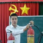 Học viện Hành chính Quốc gia cơ sở TP. Hồ Chí Minh tổ chức tập huấn nâng cao nhận thức về công tác an toàn phòng cháy chữa cháy