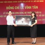 Đồng chí Lê Vĩnh Tân - Ủy viên Trung ương Đảng, Bộ trưởng Bộ Nội vụ thăm và làm việc với Học viện Hành chính Quốc gia Cơ sở TP. Hồ Chí Minh
