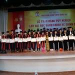 Bế giảng và Trao bằng tốt nghiệp cho sinh viên lớp Đại học hành chính hệ chính quy khóa 12 (2011 – 2015) tại Cơ sở Học viện TP. Hồ Chí Minh